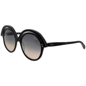 ef583c3aa2 Emilio Pucci EP0065-01B-53 Sunglasses
